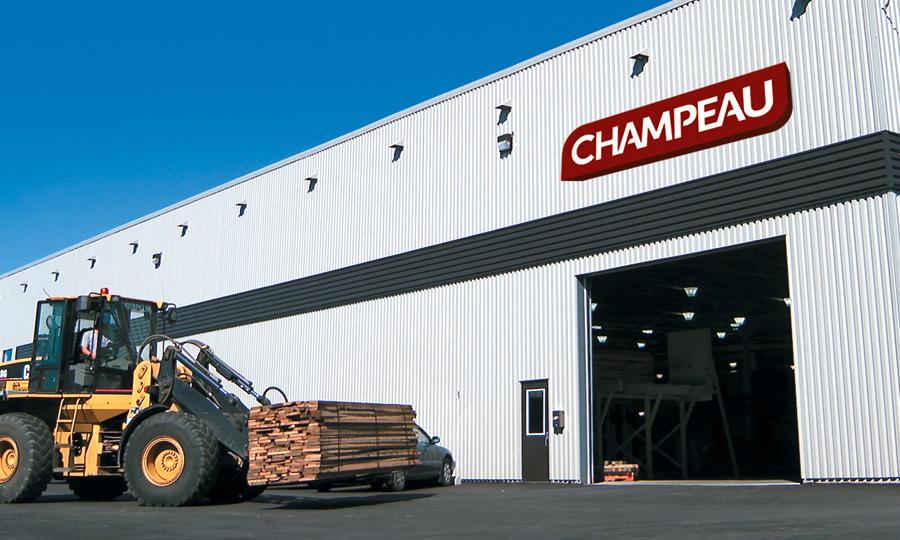 托盘木材 - Champeau 硬木产品杰出企业