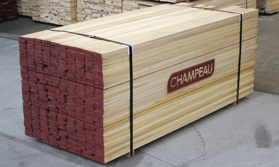 Champeau solution Sorted to widths and lengths - Hardwood Lumber products - Champeau The Hardwood Company