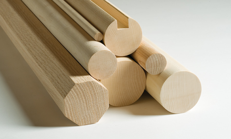 Hardwood dowels product - Champeau The Harwood Company