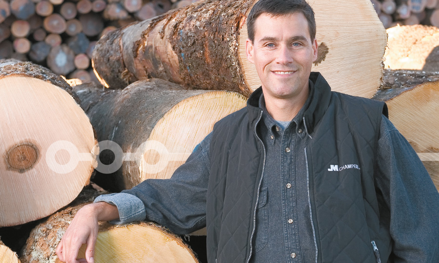 Log procurement - Champeau L'excellence en bois franc